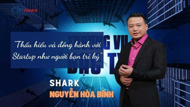 Tiểu sử Shark Nguyễn Hòa Bình