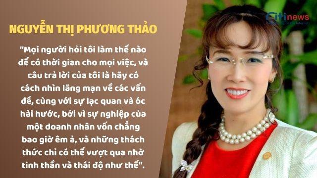 Câu nói nổi tiếng của CEO Vietjet Air Nguyễn Thị Phương Thảo