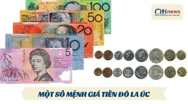 Những đồng đô là Úc đang được lưu hành tính đến năm 2021
