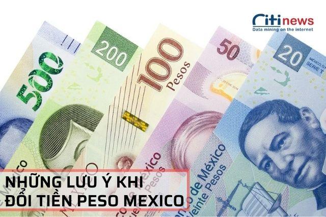 1 đồng Mexico bằng bao nhiêu Việt Nam đồng và những lưu ý khi chuyển đổi loại tiền này