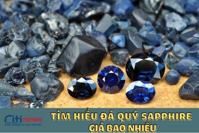 Đá Sapphire giá bao nhiêu?