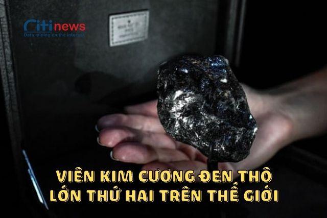 Viên kim cương đen to nhất thế giới